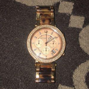 Michael Kors Parker Stainless Steel Watch